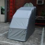 重型機車罩(銀/白)